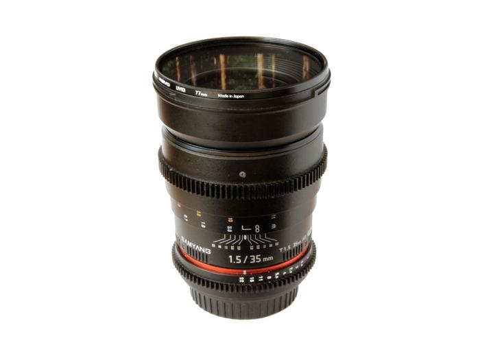Samyang 35mm Cine Lens  - 1