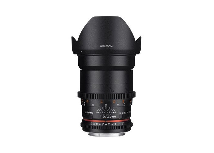 Samyang 35mm T1.5 AS UMC II VDSLR Lens - Nikon Fit - 1