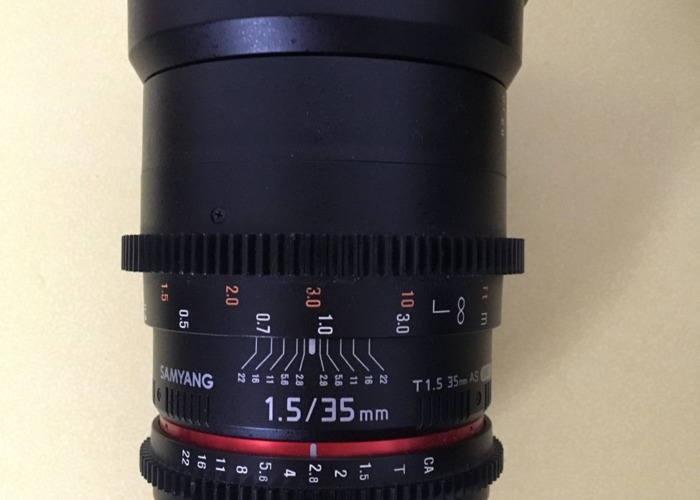 Samyang 35mm T1.5 Cine Lens - 1