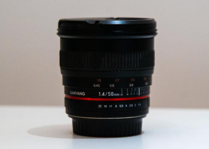 Samyang 50mm f/1.4 AS UMC Lens (Canon Fit) - 1