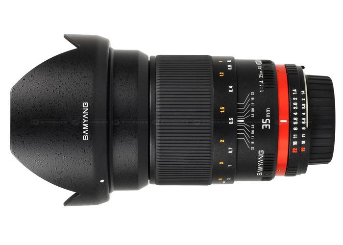 Samyang 50mm f/1.4 AS UMC Lens for Canon EF Mount - 1
