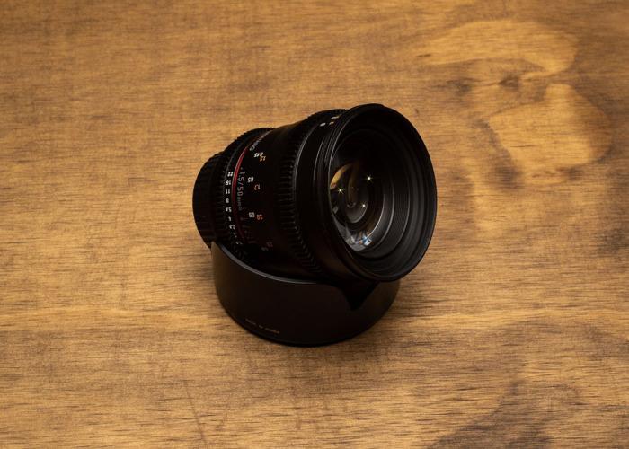 Samyang 50mm T1.5 Cine - 1