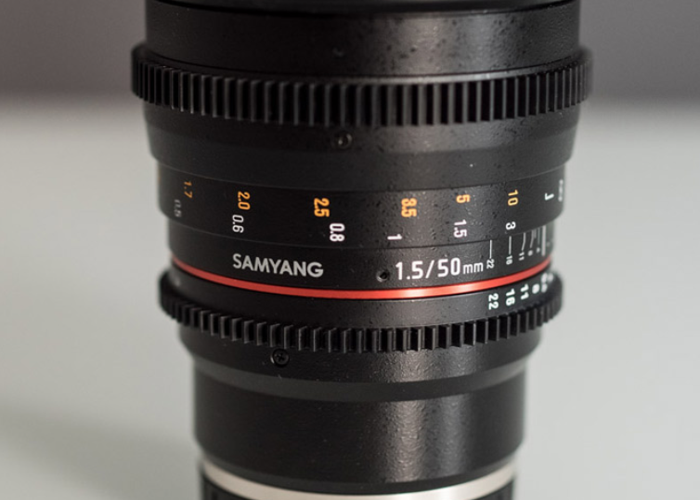 Samyang 50mm T1.5 Sony E mount - 1