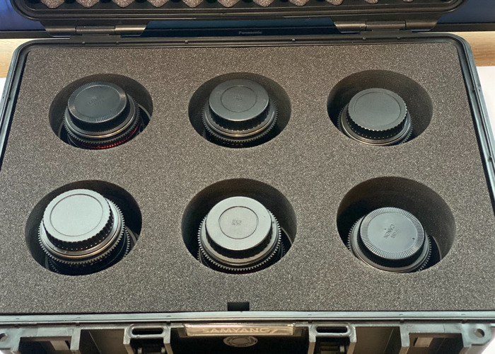 Samyang 6x Cine Lens Kit - Canon EF (8, 16, 24, 35, 50, 85)  - 2