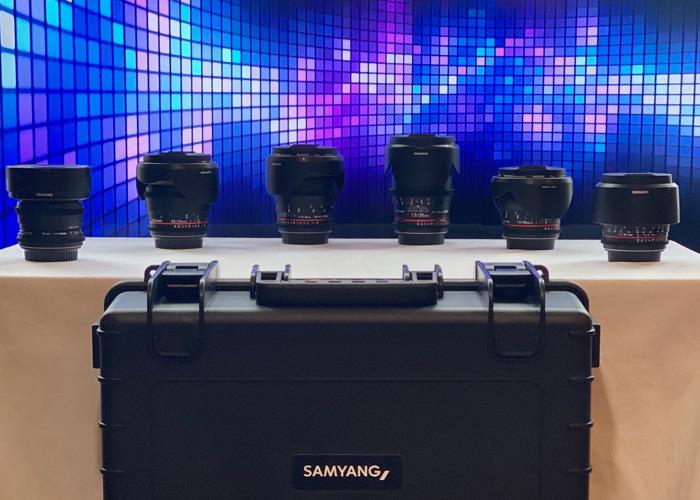 Samyang 6x Cine Lens Kit - Canon EF (8, 16, 24, 35, 50, 85)  - 1