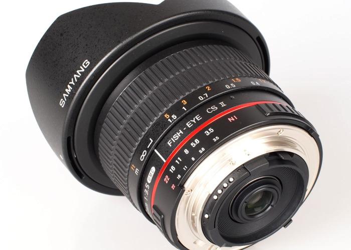 SAMYANG 8mm Canon Fisheye Lens - 1