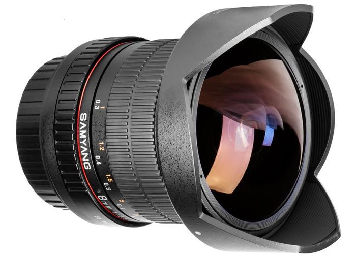 SAMYANG 8mm Canon Fisheye Lens - 2