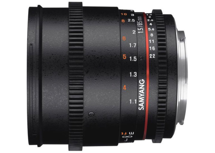 Samyang 85 mm T 1.5 Sony Mount - 1