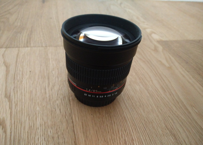 Samyang 85mm f1.4 Canon fit - 1