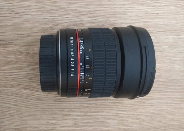 Samyang 85mm f1.4 Canon fit - 2