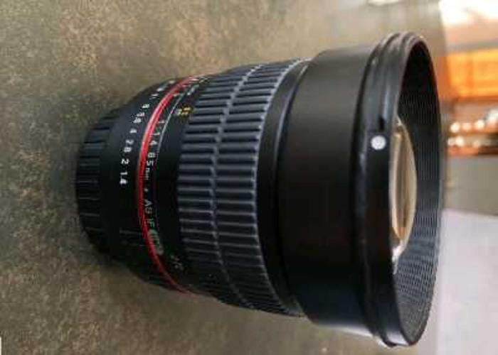Samyang 85mm f1.4 Canon Lens  - 2