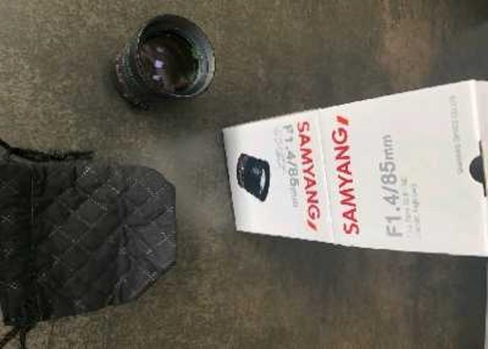 Samyang 85mm f1.4 Canon Lens  - 1