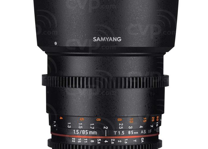 Samyang 85mm T1.5 Cine, E Mount - 1