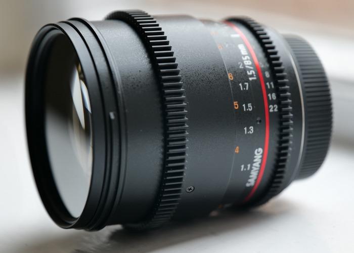 Samyang 85mm T1.5 Cine Prime for Canon EF Full Frame/APSC - 1