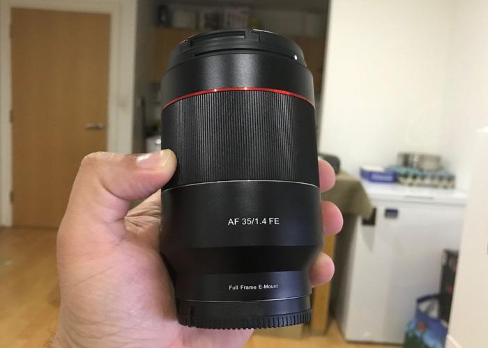 Samyang AF 35mm F1.4 (Sony A7, A7s, A7 III, A7r, A9) - 1