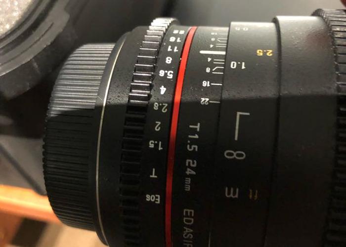 Samyang Cine 6 x Prime lens kit EF fit - 1