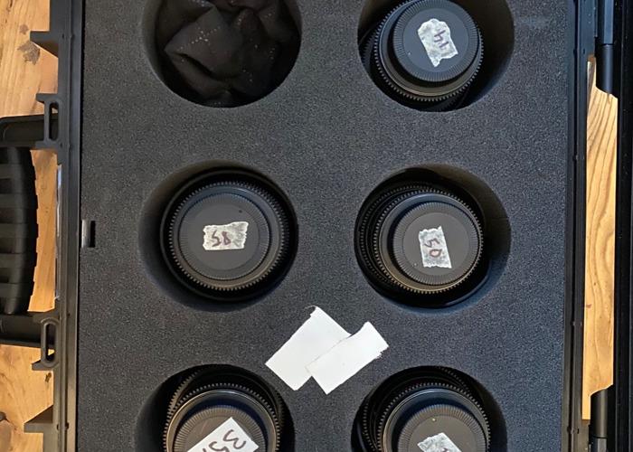 Samyang Cine Lens EF MOUNT Kit 14mm, 24mm, 35mm, 50mm, 85mm - 1