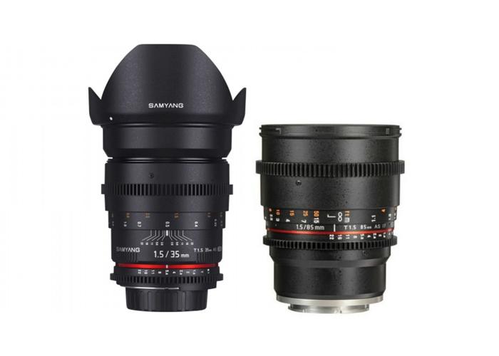 Samyang Cine Lens kit - 35/85mm T1.5 - 1