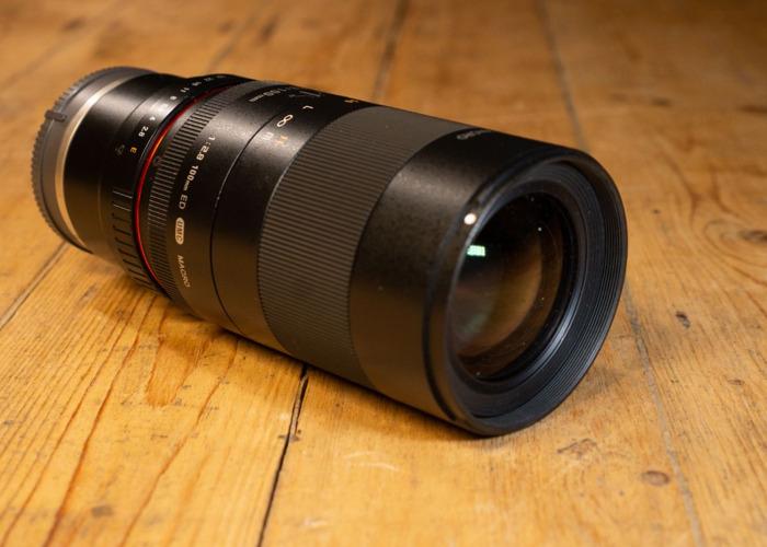 Samyang E mount Prime 100mm F/2.8 lens - 1
