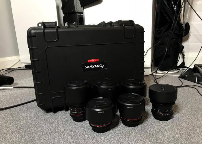 Samyang Prime Cine Lens Kit (14mm-135mm) Canon EF Mount - 1