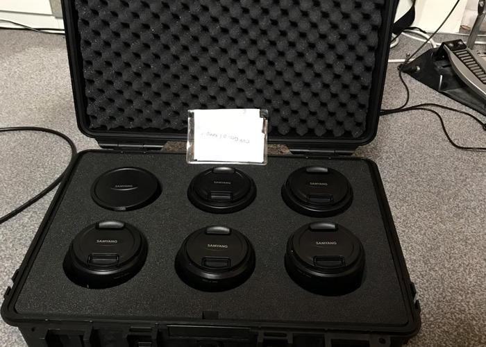 Samyang Prime Cine Lens Kit (14mm-135mm) Canon EF Mount - 2