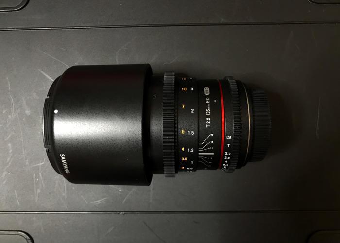Samyang Prime Lens 135mm Canon EF Mount - 1