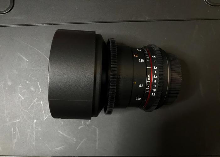 Samyang Prime Lens 14mm Canon EF Mount - 1