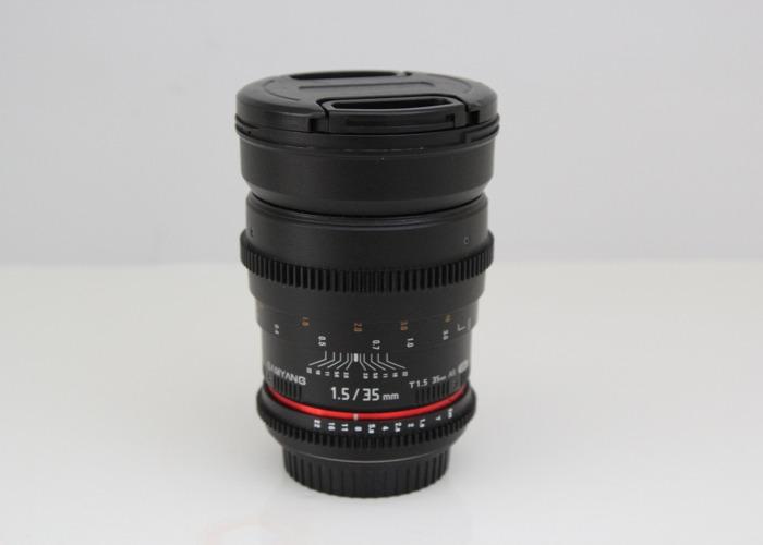 Samyang Prime Lens 35mm Canon EF Mount - 1