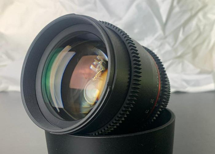 Samyang VDSLR - 6 CineLens Kit, (Canon EF mount) - 2