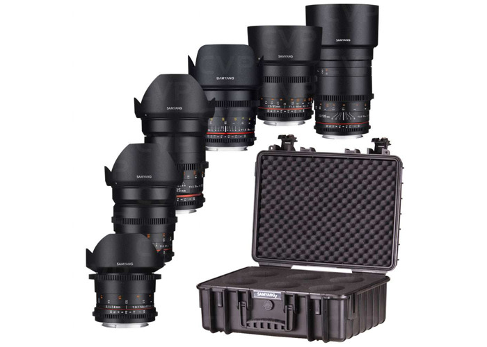 Samyang VDSLR - 6 CineLens Kit, (Canon EF mount) - 1