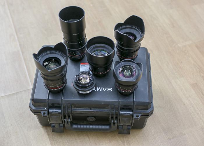 Samyang VDSLR Cine Lens Set - 1