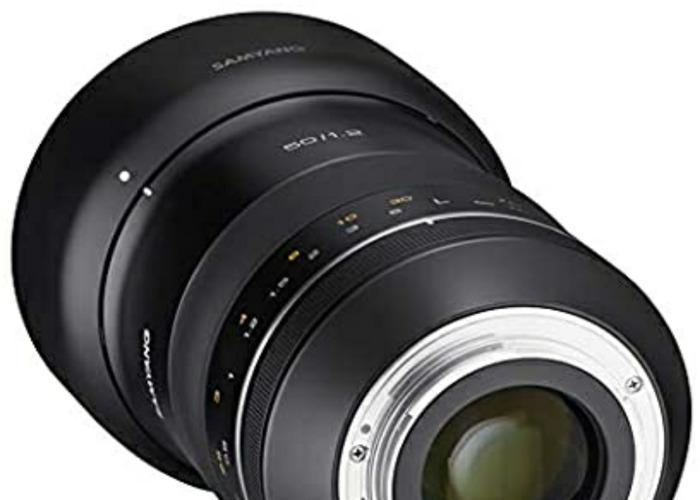 Samyang XP 50mm 1.2 for Canon EF - 2