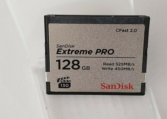 SanDisk Extreme PRO 128GB CFast 2.0 Card - 1
