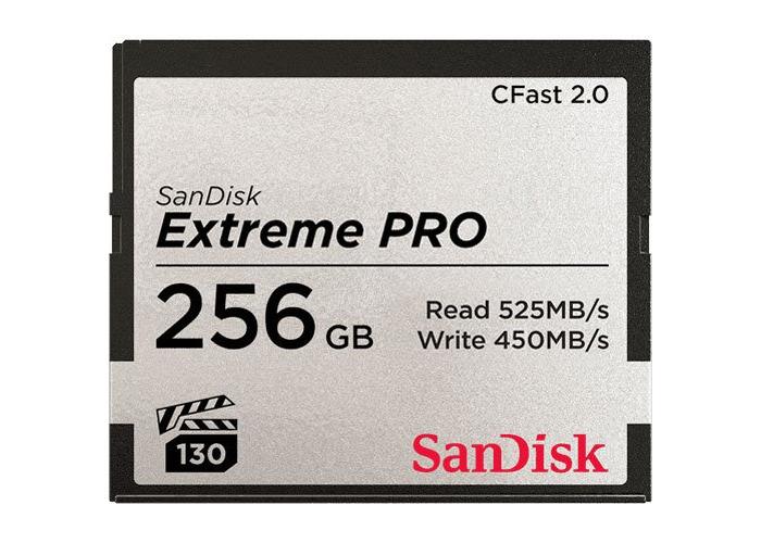 SanDisk Extreme PRO 256GB CFast 2.0 Card - 1