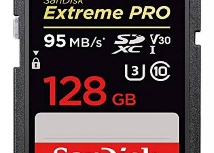 SanDisk Extreme PRO SDXC Memory Card 128GB - 1