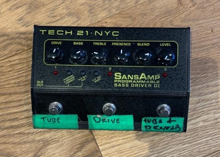 SansAmp - Tech 21 NYC - 1