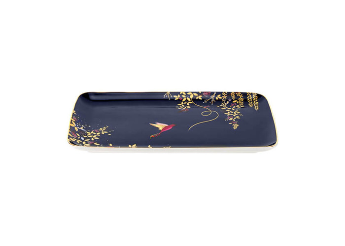 Sara Miller Chelsea Collection Trinket Tray - 1