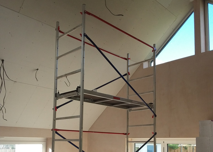 Scaffold Tower Aluminium 5m - 1