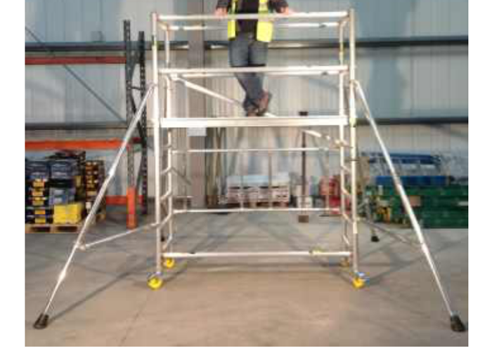 Scaffold Work Tower Youngman Mini Max - 2