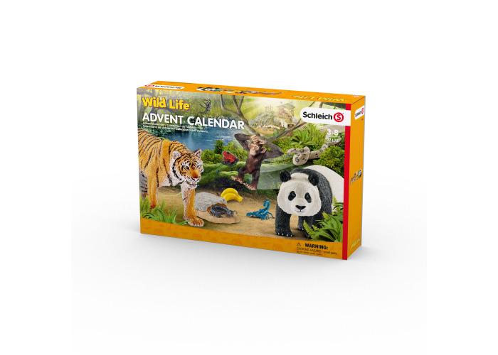 Schleich 97433 Wild Life Advent Calendar 2017 - 2