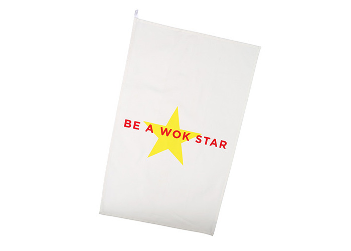 School Of Wok Be A Wok Star Tea Towel - 1