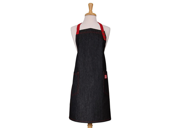 School Of Wok Denim Adult Apron - 1