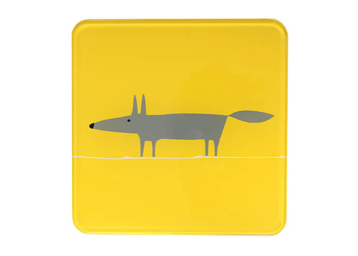 Scion Living Mr Fox Yellow Hot Pot Stand - 1