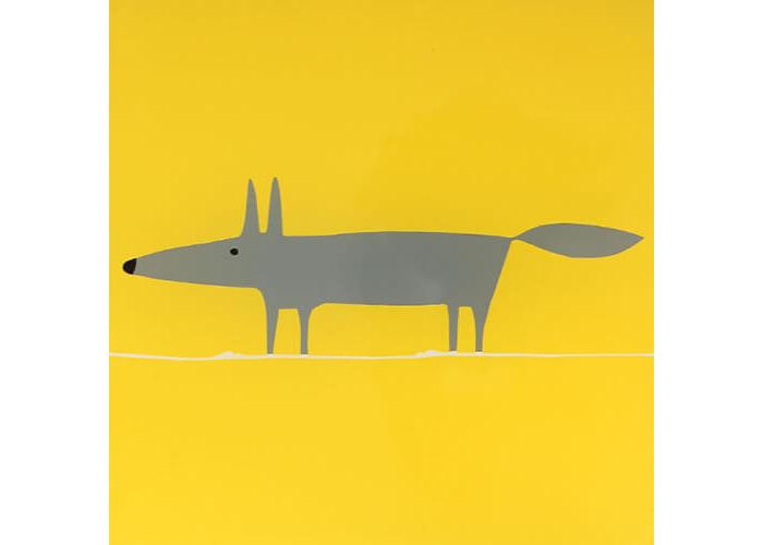 Scion Living Mr Fox Yellow Hot Pot Stand - 2