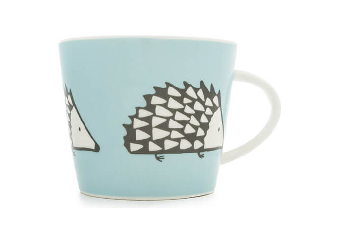 Scion Living Spike Blue 350ml Mug - 1