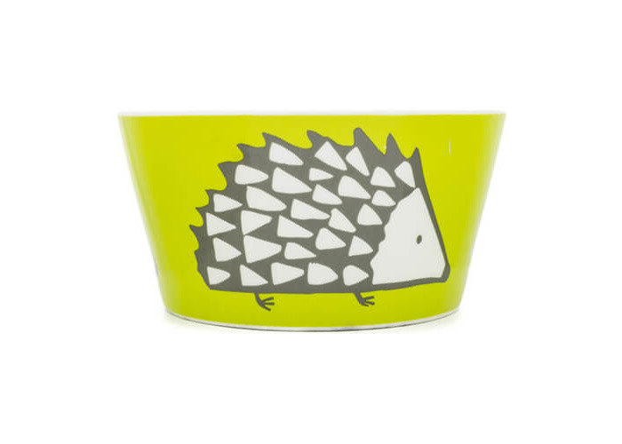 Scion Living Spike Olive Green Bowl - 1