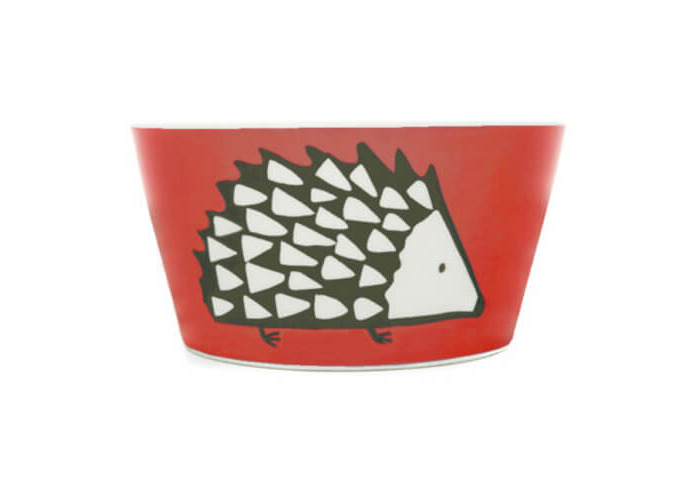 Scion Living Spike Red Bowl - 1
