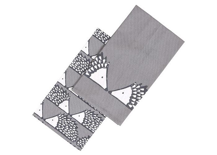 Scion Living Spike Tea Towels Set Of 2 Grey - 1