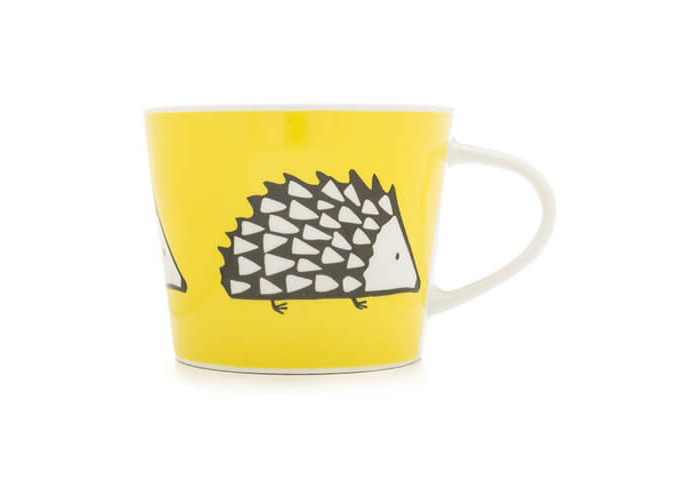 Scion Living Spike Yellow 250ml Mini Mug - 1