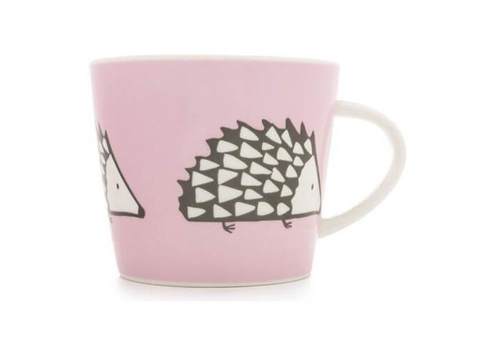 Scion SC-0167 Medium Mug Spike Standard, 11.8 fl. oz, Pink - 1